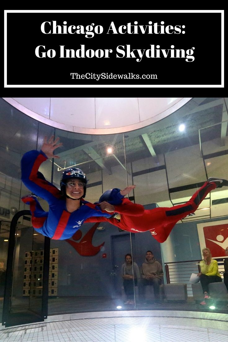 Things To Do In Chicago: Go Indoor Skydiving at iFLY!                                                                                                                                                     More