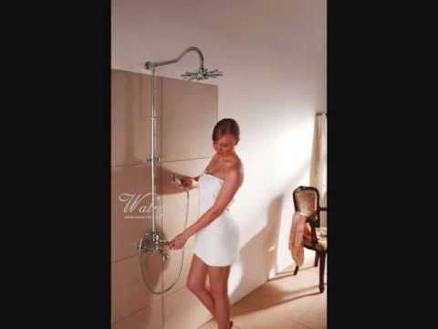 Retro sprchy, retro sprchové sety