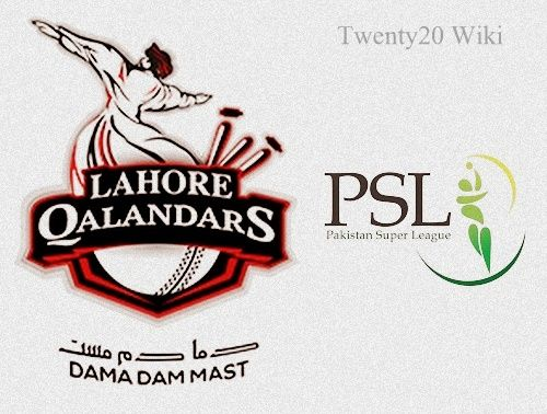 Lahore Qalandars Team Squad for PSL 2016 - T20 Wiki