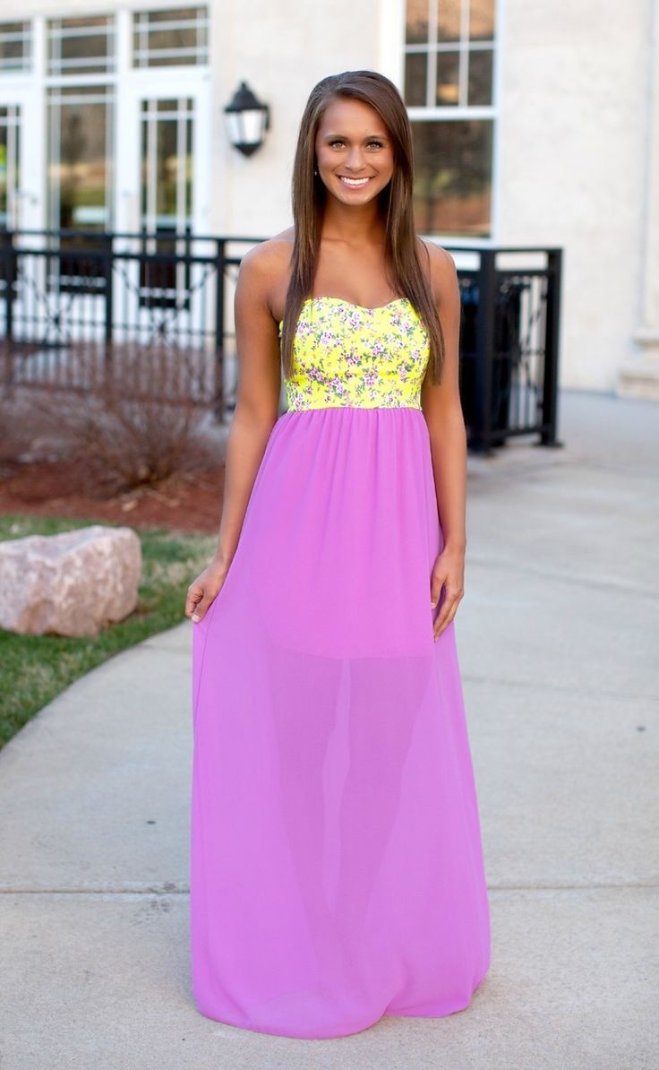 The Pink Lily Boutique - Here All Along Purple Maxi, $40.00 (http://thepinklilyboutique.com/here-all-along-purple-maxi/)