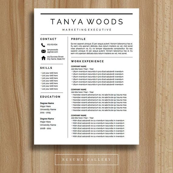 32 best Resume Templates images on Pinterest Resume design - mac pages resume templates