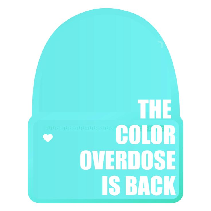 The coloroverdose backpack is back !