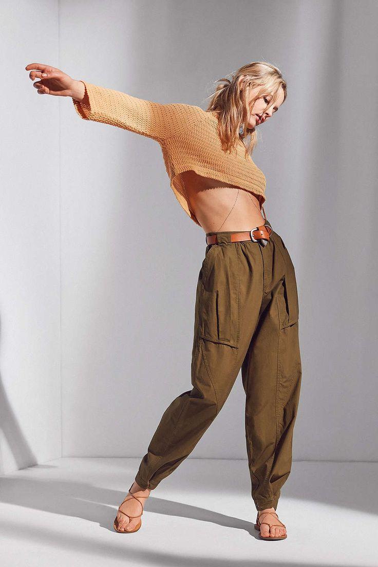 BDG Debbie Utility Parachute Pant - Urban Outfitters