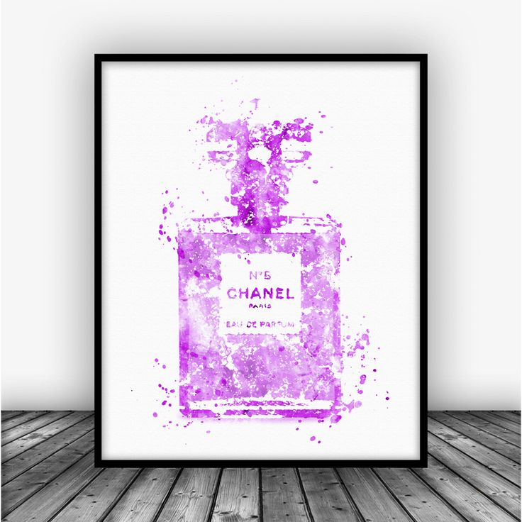 Coco Chanel No 5 Art Print Poster by Carma Zoe From $10.00