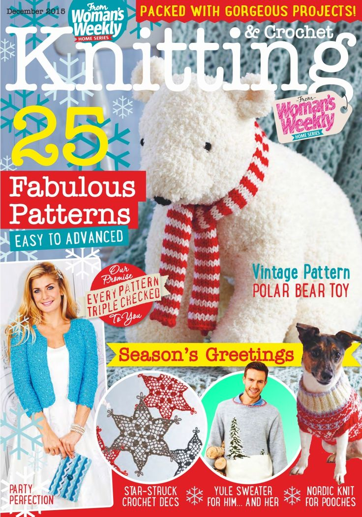 Women's Weekly Knitting & Crochet December 2015
