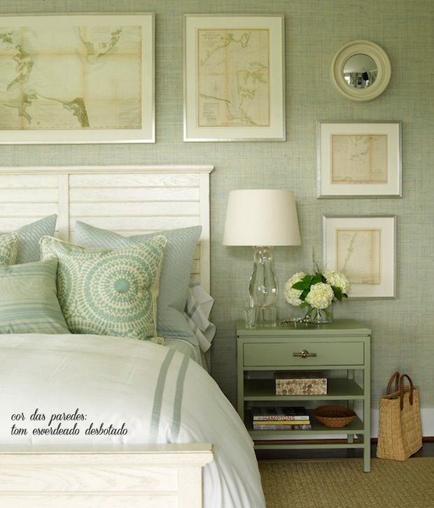 The Charm And Tranquility Of A Green Bedroom Bedroom