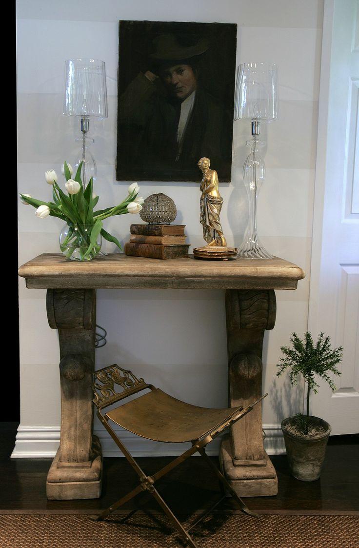 Michele Foyer Art : Small foyer entry michelleniday interiors entrez vous