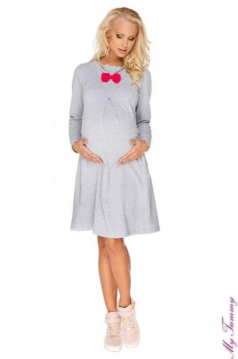 """Těhotenské a kojicí šaty """"Paris"""" - My Tummy - Luxusní, elegantní a praktické oblečení pro těhotné a kojící ženy"""