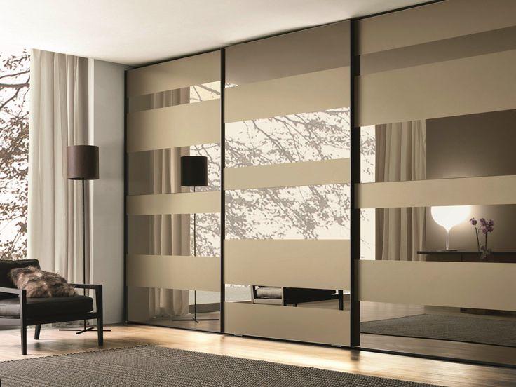 Lacquered wooden wardrobe with sliding doors SEGMENTA NEW MisuraEmme Collection by MisuraEmme | design Mauro Lipparini