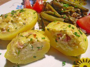 Gefüllte Kartoffeln, ein sehr schönes Rezept aus der Kategorie Kartoffeln. Bewertungen: 17. Durchschnitt: Ø 4,0.