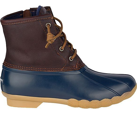 Saltwater Duck Boot, Tan / Navy