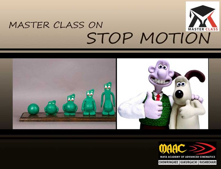 Free Master Class on Stop Motion