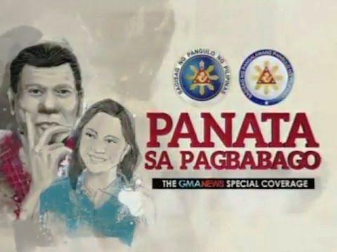 Panata Sa Pagbabago - Ang Simula ng Duterte Administration Live Stream — 6.30.2016 , Ang Simula ng Duterte Administration , Featured , GMA 7 Kapuso , June 30 , Live Stream , Live Streaming , Panata Sa Pagbabago , Thursday — Tambayan Replay
