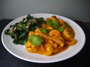 Low Calorie 5-2 Diet Prawn Curry