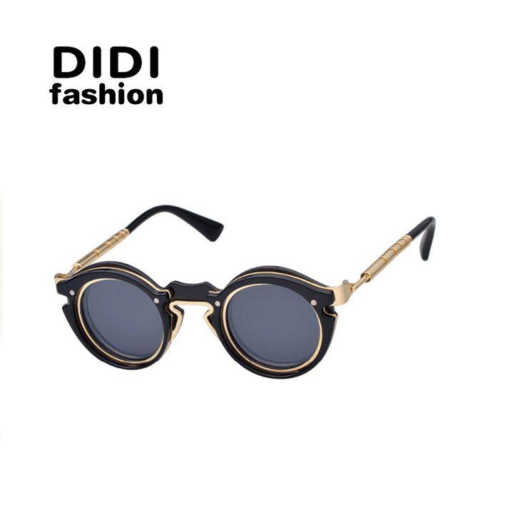 $9.15 (Buy here: https://alitems.com/g/1e8d114494ebda23ff8b16525dc3e8/?i=5&ulp=https%3A%2F%2Fwww.aliexpress.com%2Fitem%2FDIDI-Top-Multi-Round-Goggle-Sunglasses-Women-Brand-Designer-Steampunk-Oculos-De-Sol-Feminino-Driving-Glasses%2F32699377840.html ) DIDI Top Multi Round Goggle Sunglasses Women Brand Designer Steampunk Oculos De Sol Feminino Driving Glasses Gafas De Sol W351 for just $9.15