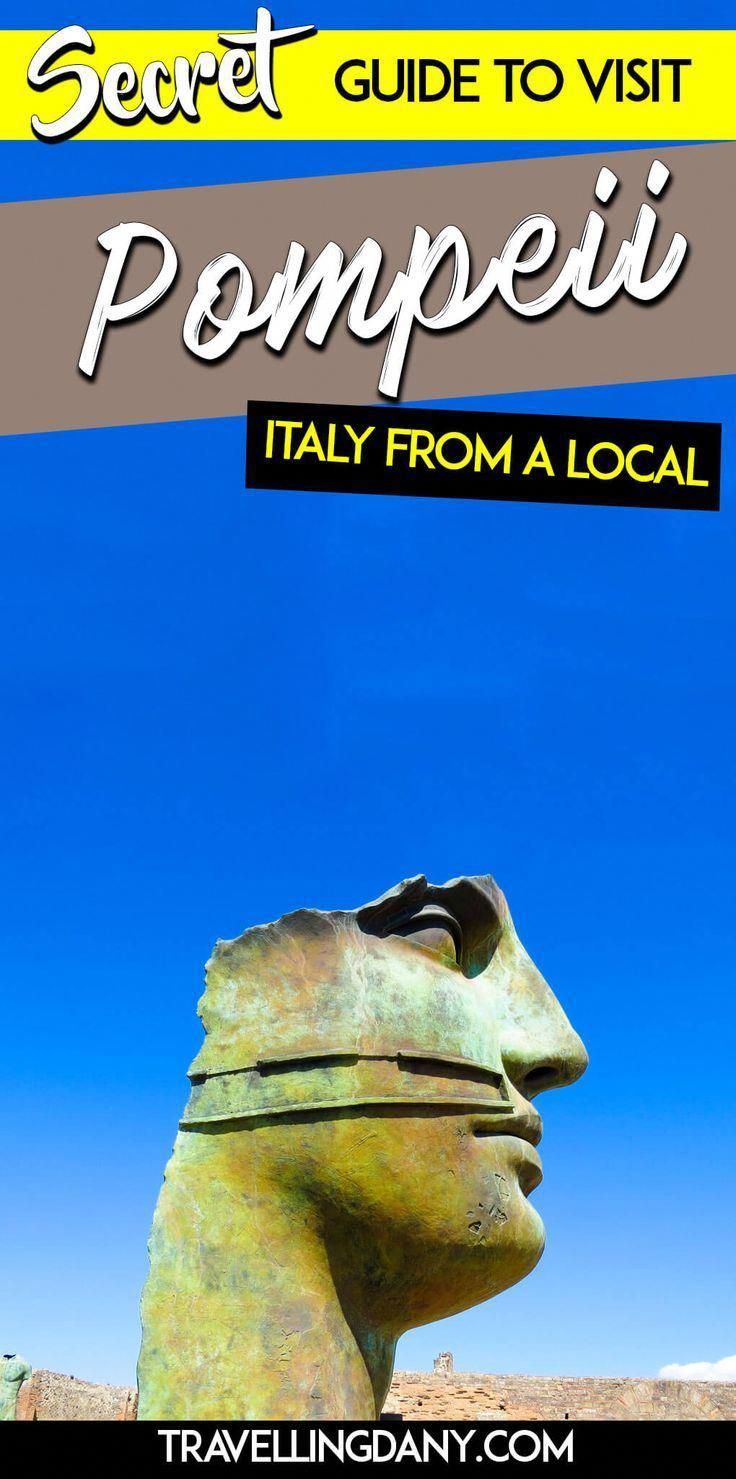 Guide from a local to visit pompeii in italy It includes a map