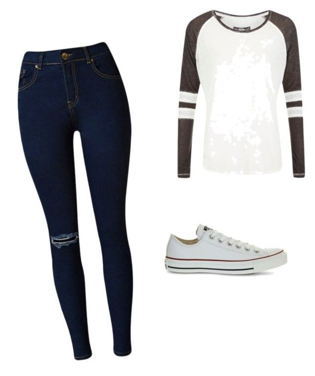"""""""It's a normal day"""" by ophelierose on Polyvore featuring mode, Superdry et Converse"""