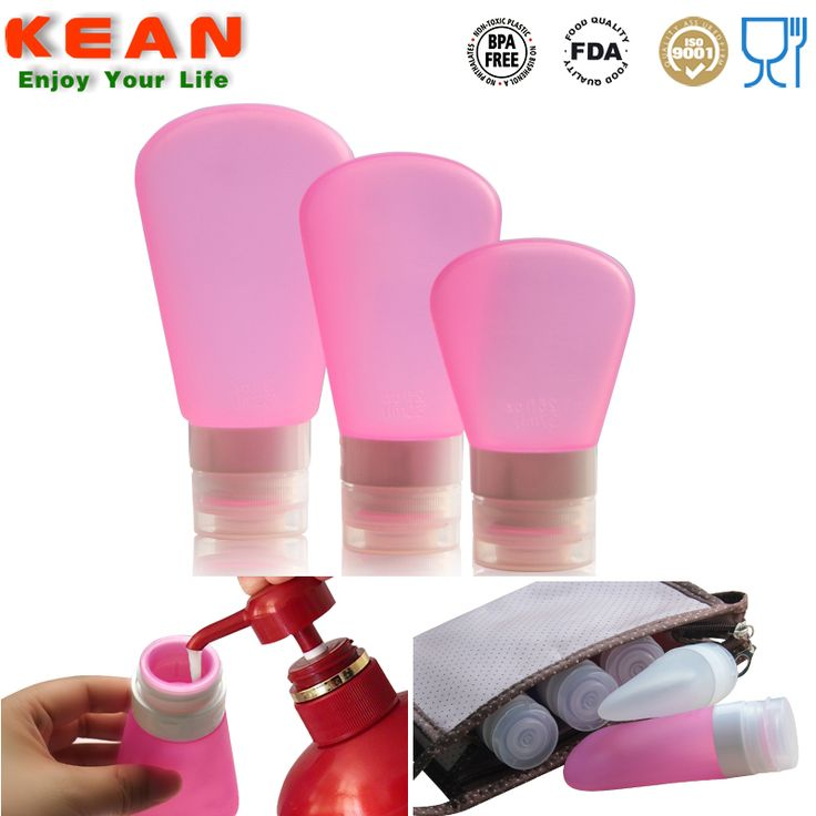 Shop Small Liquid Containers-Kean Silicone offers TSA approved airline carry on silicone travel bottles,same function as ,nalgene travel bottles,can be your smart friends when travelling