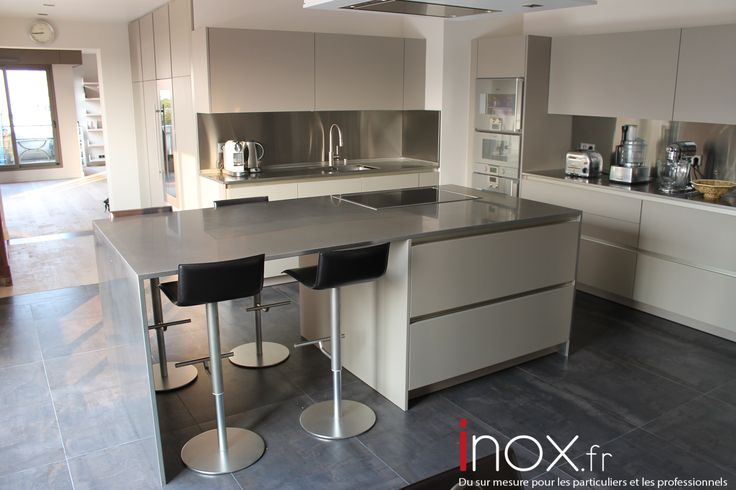 17 beste idee n over credence inox op pinterest. Black Bedroom Furniture Sets. Home Design Ideas