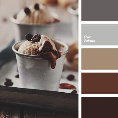 Color Palette #2826 | Color Palette Ideas - Soft Brown Cream