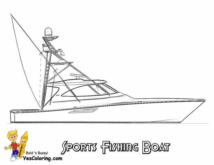 44 best Free Sharp Ships Boats Coloring Pages images on Pinterest