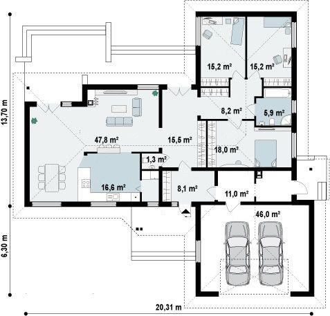 Ficha Y Planos De Casa Lunada Estilo R Stico Proyectos