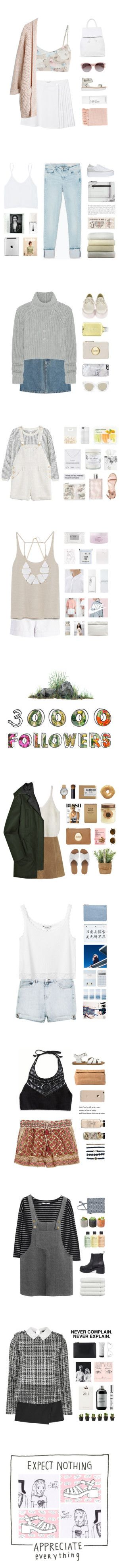 """""""MY TOP SETS (FASHION & ART)"""" by janettetang ❤ liked on Polyvore"""