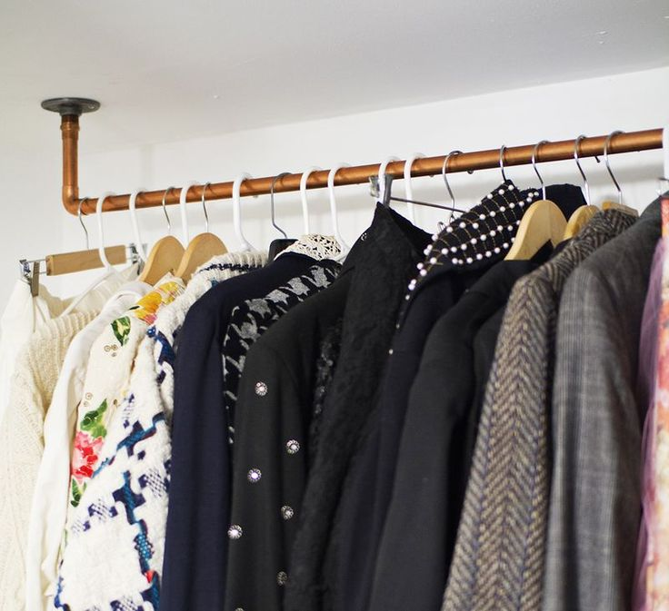 Best 25+ Pipe Clothes Rack Ideas On Pinterest