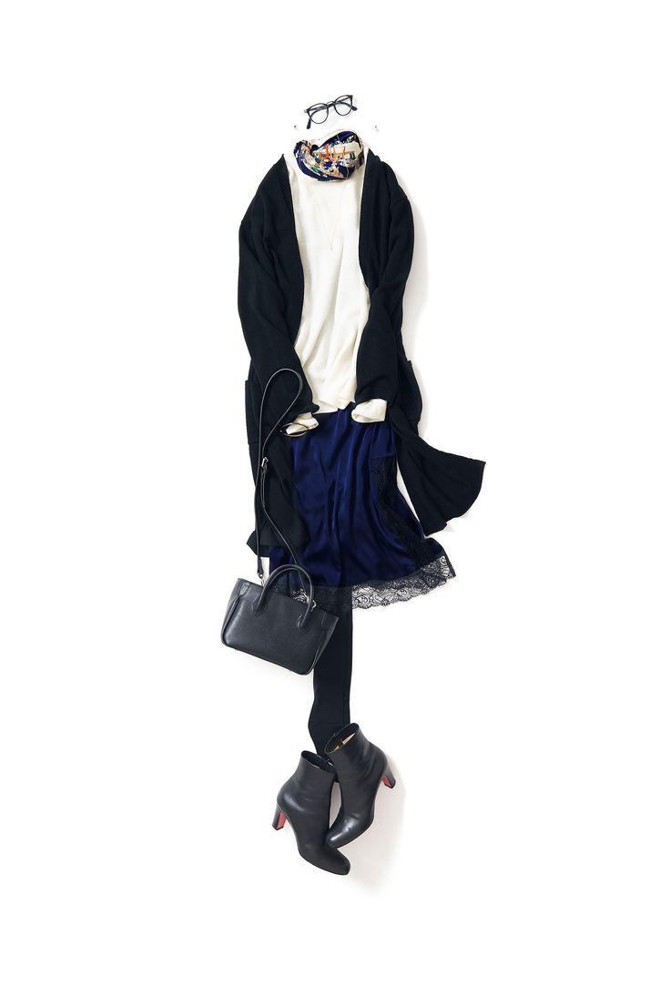Kyoto Kikuchi's Closet #kk-closet 上品に着るキャミワンピ