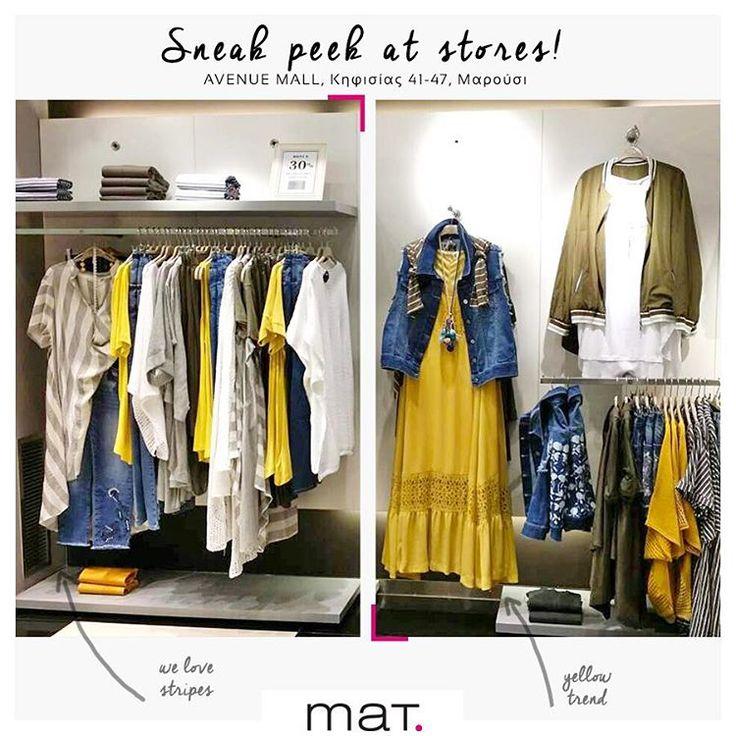 Απολαμβάνουμε το πιο aMAYzing Sale, για λίγες ακόμα ημέρες, στο #matfashion κατάστημα στο @avenuemallathens 🍋 💛#mat_avenue #ss17 #collection #fashion #ootd #inspiration #avenuemallathens #plussizefashion