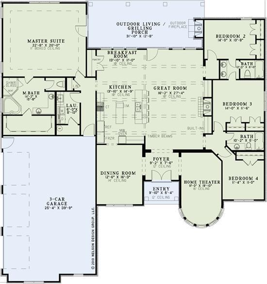 Best 25 One Floor House Plans Ideas On Pinterest House