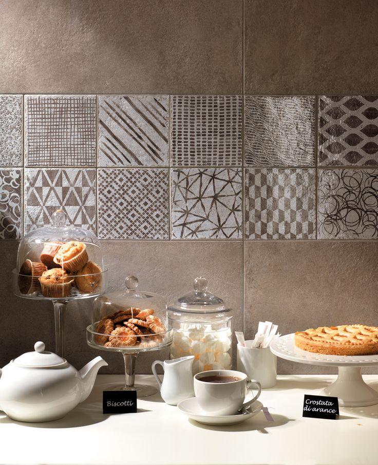 Oltre 25 fantastiche idee su piastrelle dipinte su - Dipingere piastrelle bagno ...