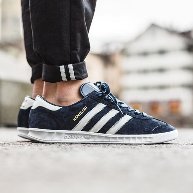 quality design 84239 d3d6f adidas hamburg navy white gum adidas hamburg collegiate navy footwear white  available now in store and online