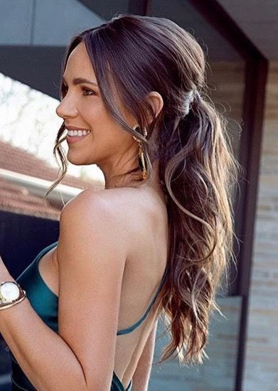 Elegant Ponytail Hairstyles for Special Occasions #ponytailhairstyles Bubble ponytail has become an essential appearance. We have seen such ponytails on some celebrities. This is an example of a beautiful ponytail. This is…