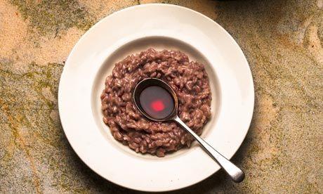 Risotto with barolo and castelmagno recipe