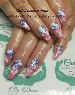 55 best autumn leaves images on pinterest autumn leaves nailart this wonderful design was created by diane westlake using rose bud shellac with purple additive fade prinsesfo Images