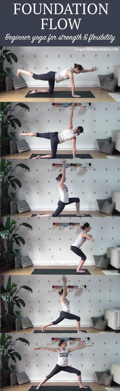 6 Beginner Poses for Strength and Flexibility