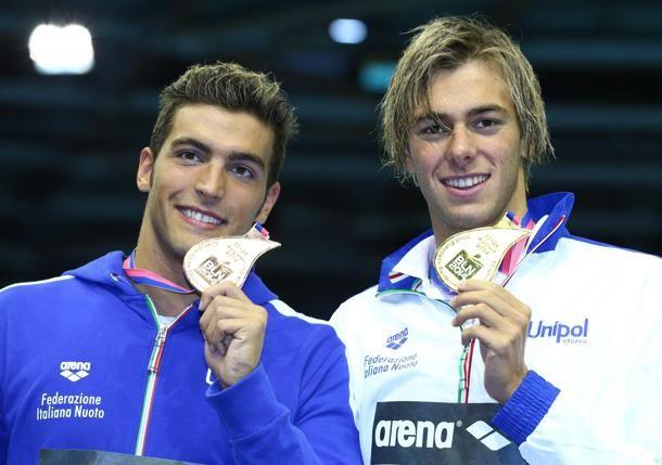 Europei di nuoto a Berlino: l'oro di Gregorio Paltrinieri e il bronzo di Gabriele Detti.