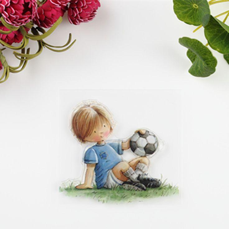 $1.41 (Buy here: https://alitems.com/g/1e8d114494ebda23ff8b16525dc3e8/?i=5&ulp=https%3A%2F%2Fwww.aliexpress.com%2Fitem%2F2016-new-Scrapbook-DIY-Photo-Album-Account-Transparent-Silicone-Rubber-Clear-Stamps-Sheet-Kids-Boy-Football%2F32725822944.html ) 2016 new Scrapbook DIY Photo Album Account Transparent Silicone Rubber Clear Stamps Sheet Kids Boy Football for just $1.41