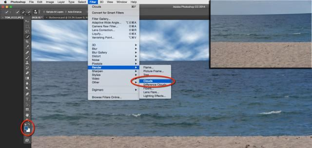 How To Fix A Bad Sky In Adobe Photoshop: How To Use The Photoshop Cloud Filter To Replace A Sky