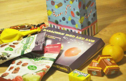Hjemmelavet slikpose til børnefødselsdag