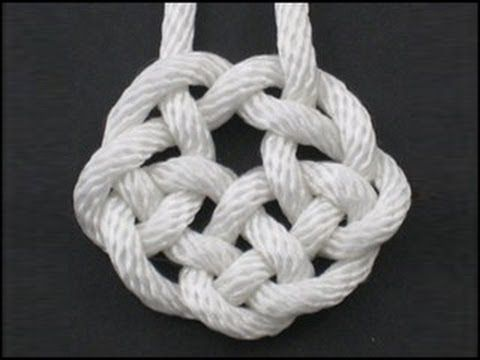 How To Tie The Rising Sun Knot By Tiat Youtube