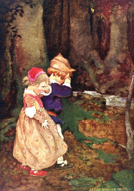 Babes in the Wood - A child's book of stories by Penrhyn W. Coussens, 1911