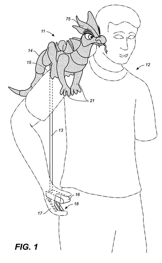 Патент US20060183402 - Articulable shoulder puppet - Google Патенты