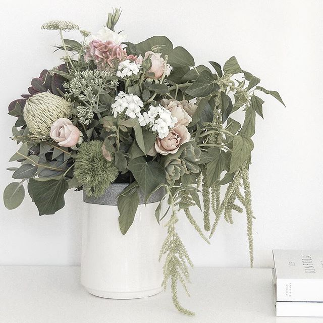Beautiful blooms. Styling and photography by Justine Ash.