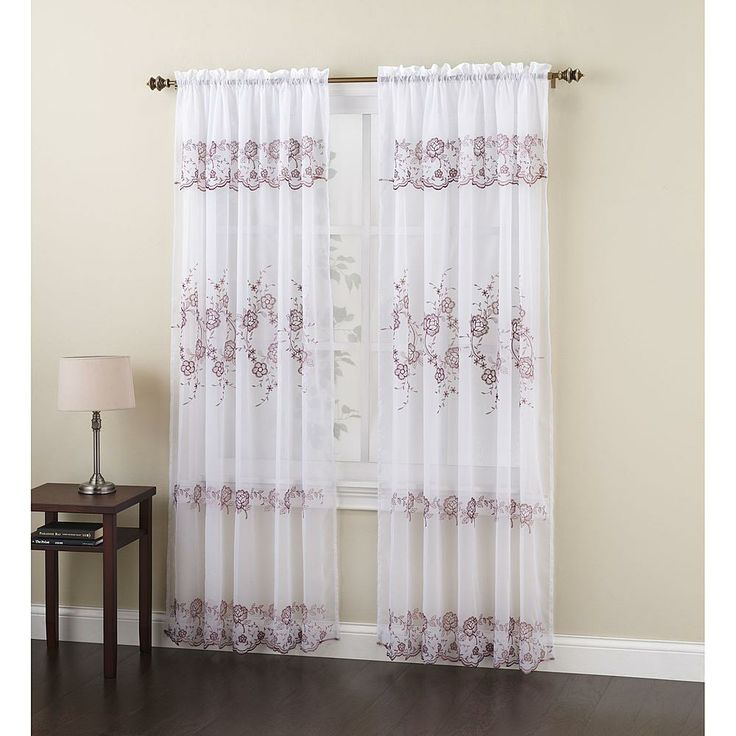 206 best cutains images on Pinterest Curtains, Window panels and - sears curtains for living room