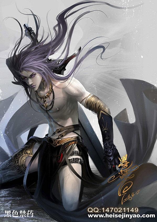 """warrior in the dark ~ Heise Jinyao aka """"heise"""""""