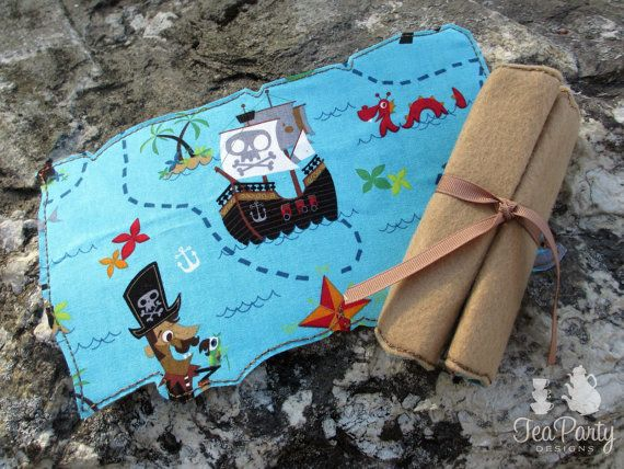 Pirate Dress Up Treasure Map by lilliannamarie on Etsy