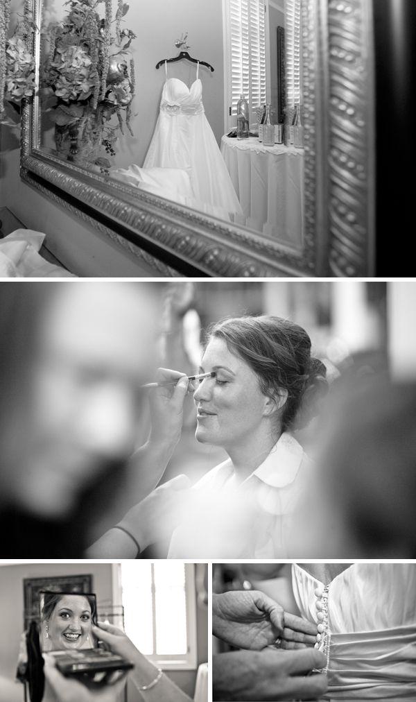 beautiful bride getting ready - JoPhoto