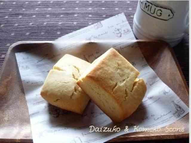 グルテンフリー☆大豆粉と米粉のスコーン